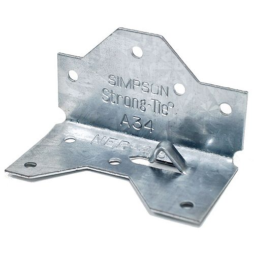 Simpson Strong-Tie 1-7/16 inch x 2-1/2inch ZMAX Galvanized Framing Angle