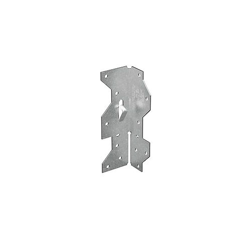 Simpson Strong-Tie Angle de charpente galvanisé de 17/16 po x 4 1/2 po