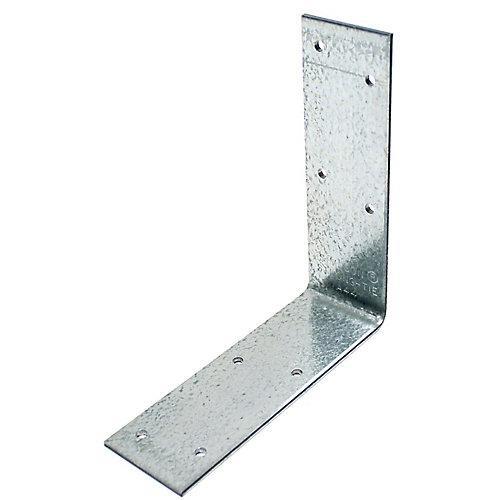 4-9/16 inch x 4-3/8 inch x 1-1/2 inch Galvanized Angle
