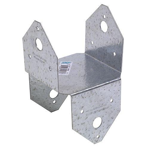 BC ZMAX Galvanized Post Cap for 4x