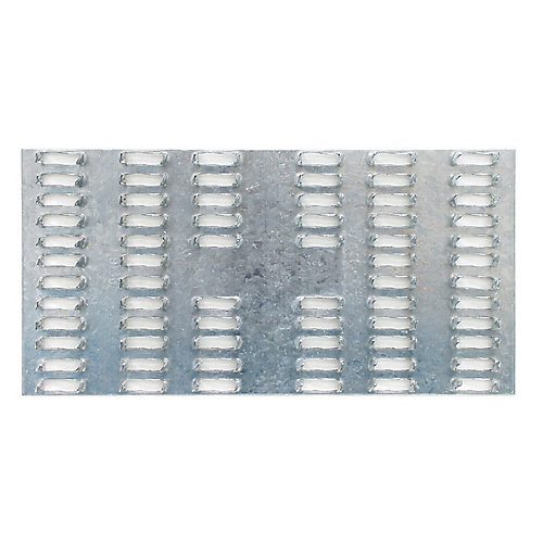 MP 3 inch x 6 inch 20-Gauge Galvanized Mending Plate