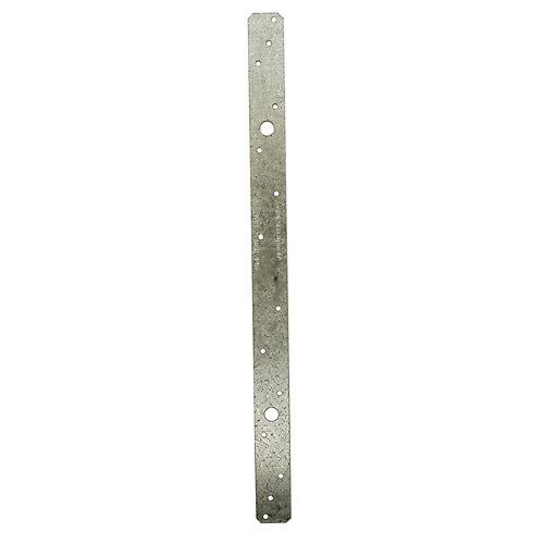 MSTA 18 inch 18-Gauge ZMAX Galvanized Medium Strap Tie