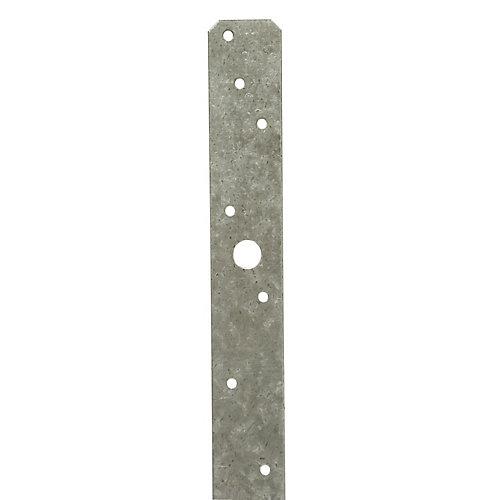 MSTA 24 inch 18-Gauge ZMAX Galvanized Medium Strap Tie