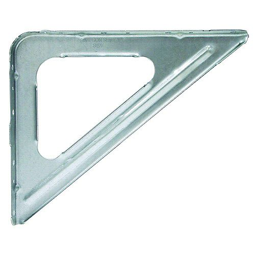 SBV 9 inch X 11 inch 16-Gauge Galvanized Shelf Bracket
