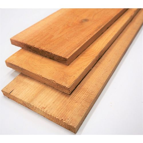 1-inch x 8-inch (Nominal) x 8 ft. #2 Cedar Board