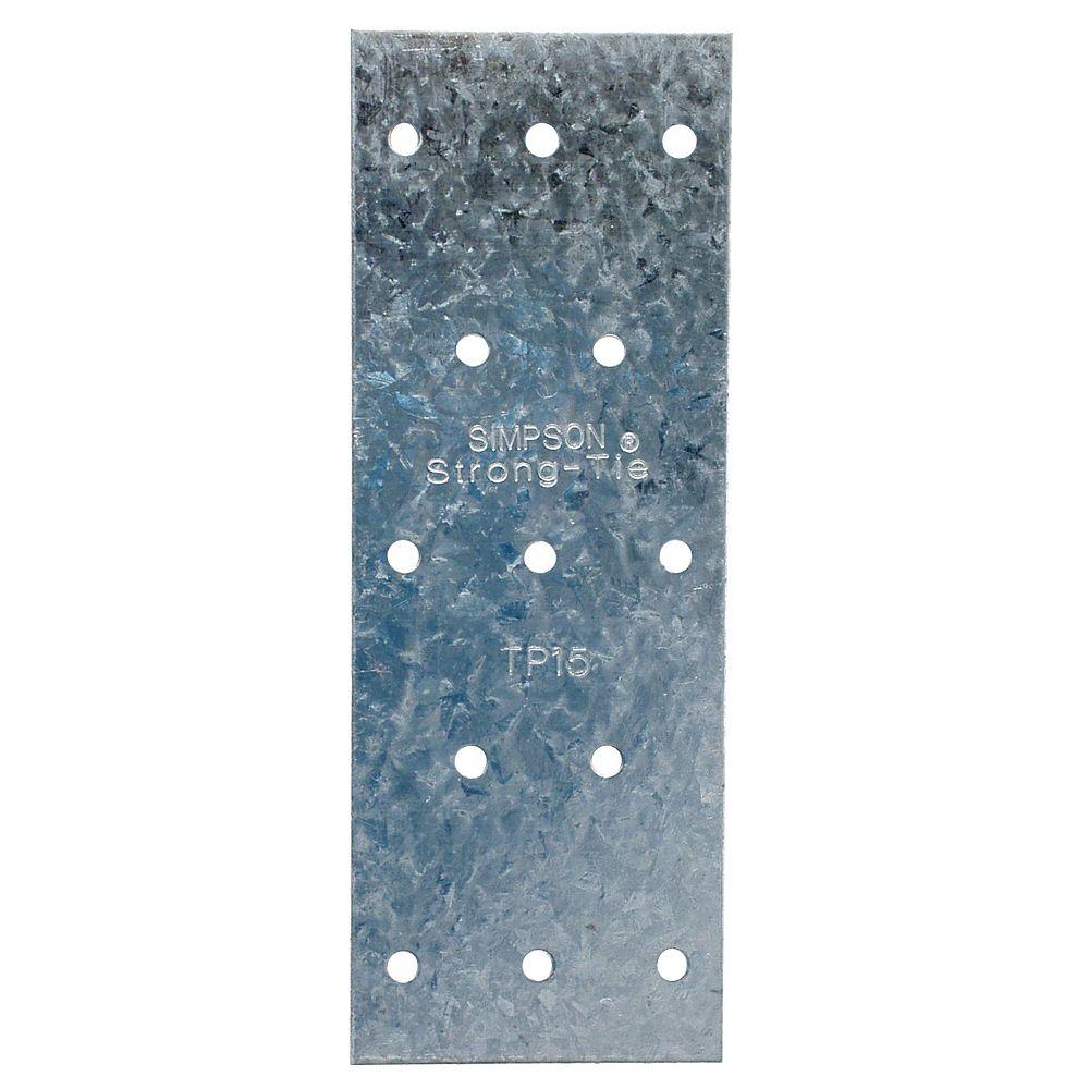 Simpson Strong-Tie TP 1-13/16 inch x 5 inch 20-Gauge Galvanized Tie Plate