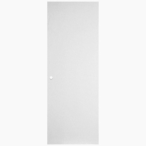 29 13/16-inch x 79 1/8-inch Primed Hardboard Righthand Door