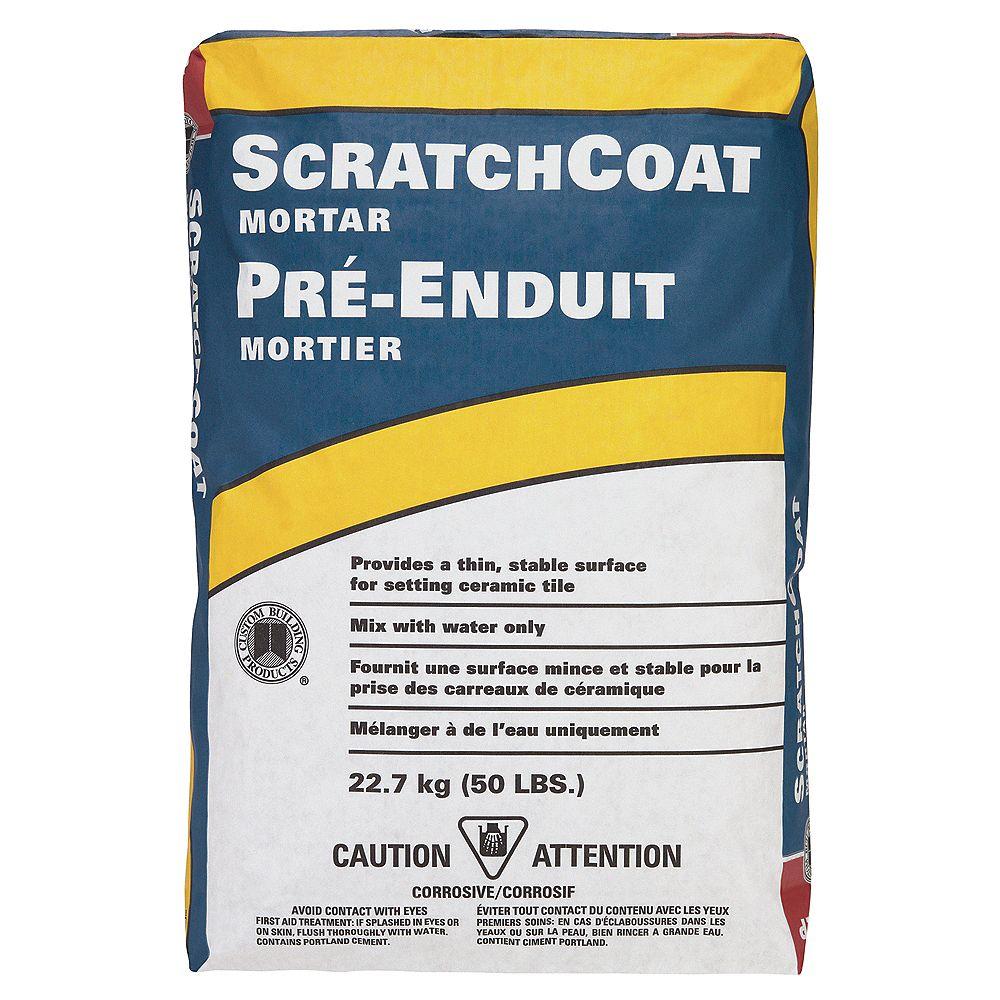 Custom Building Products ScratchCoat Mortar Grey - 50lb