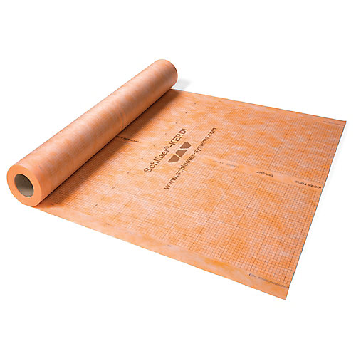 Kerdi 3 ft. 3-inch x 16 ft. 5-inch Waterproofing Membrane (54 Sq. ft. / Roll)