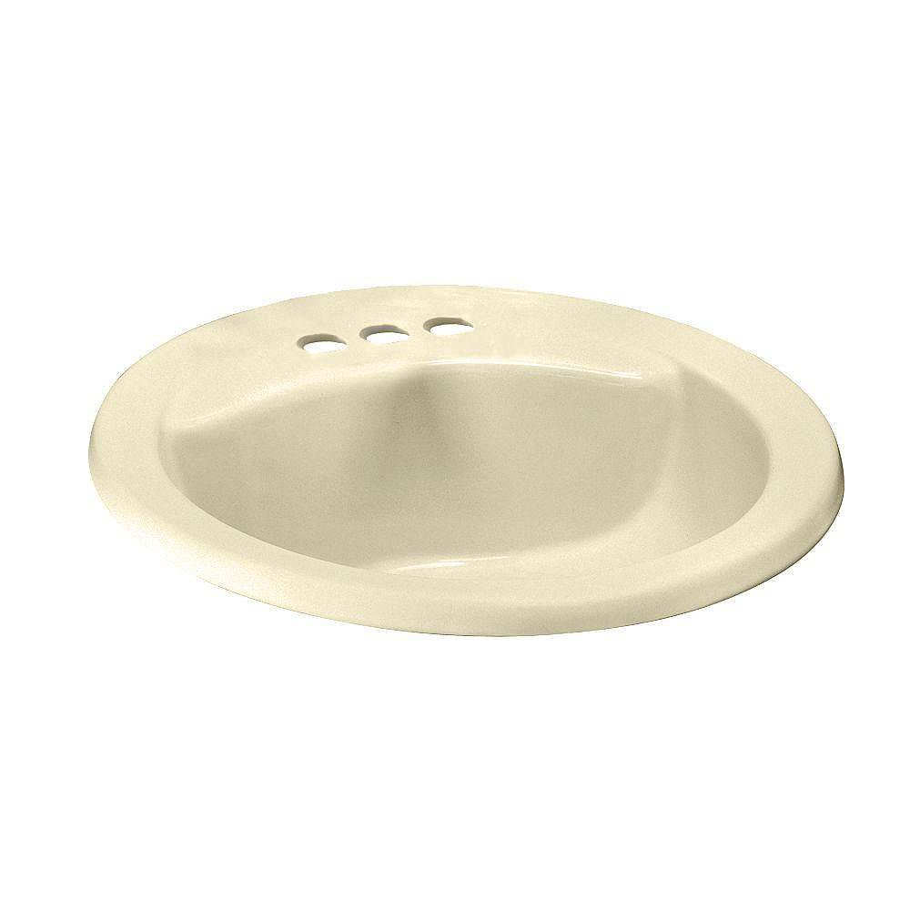 Oval Bathroom Sink With Front Overflow, Drop In Oval Bathroom Sinks