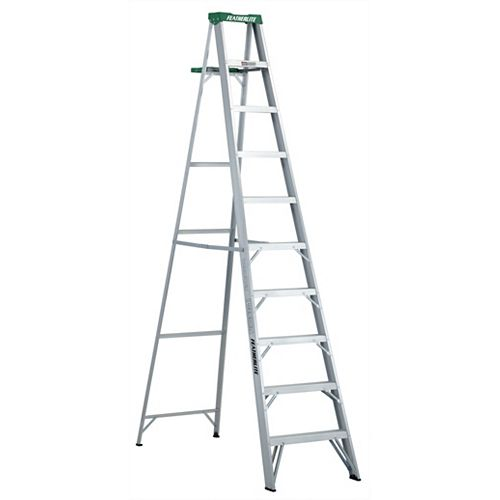 Featherlite Aluminum step ladder 10 Feet  grade II