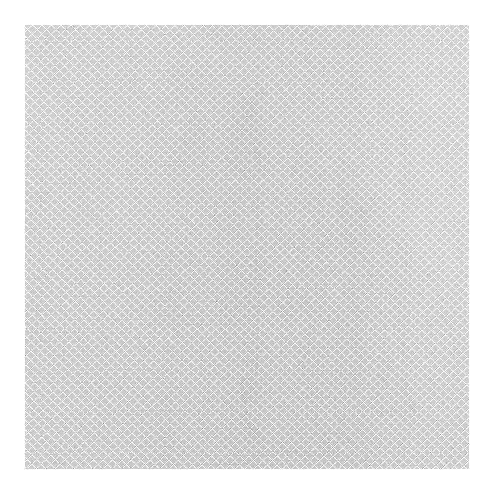 Con-Tact Simple Elegance Non Adhesive Shelf Liner - White Diamonds - 60 Inches x 12 Inches