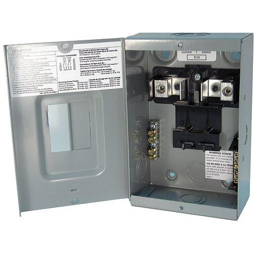 2/4 Circuit 60A 120/240V Siemens Tableau de distribution