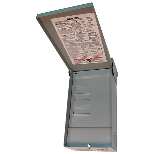 4/8 Circuit 125A 240V Outdoor Loadcentre