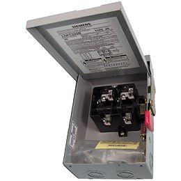 60A 2 Pole 240V Non-Fusible Switch