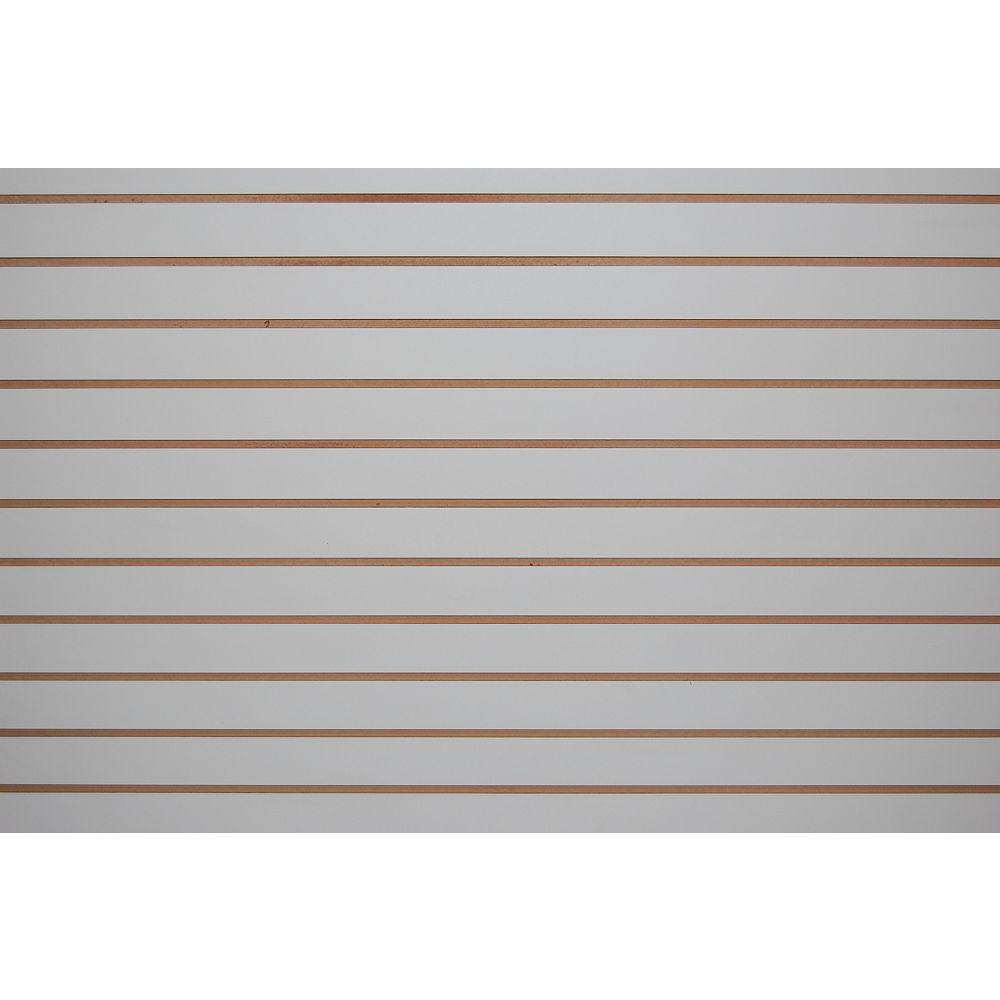 Goodfellow Slotwall 3/4-inch 4 x 8 Grey Melamine Finish
