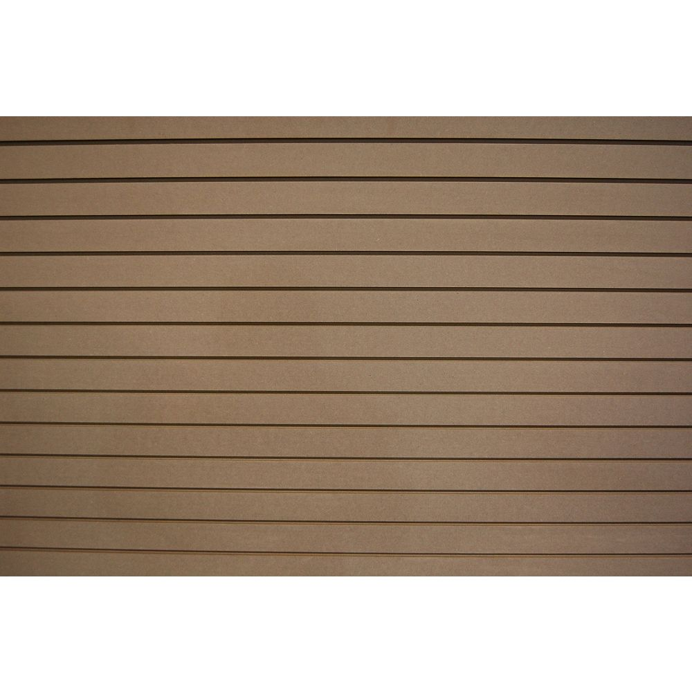 Goodfellow Slotwall 3/4-inch 4 x 8 Paint Grade Finish