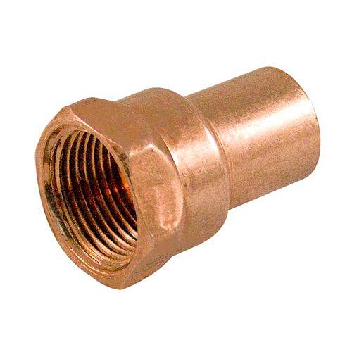Aqua-Dynamic Fitting Copper Female Adapter 1 Inch Fitting To Female