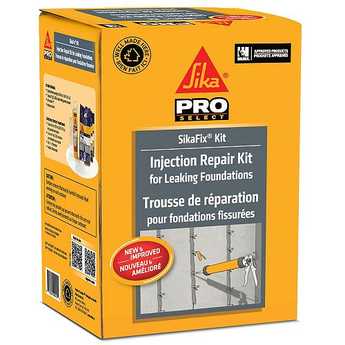 Concrete Crack Injection Fix Kit