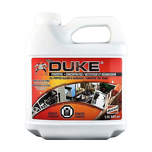 nettoyant et dégraissant est un nettoyant tout usage pour deck, entrée de cours et passerelle. Peut aussi être utilisé à l'intérieur comme produit de nettoyage ménager.