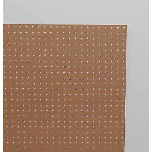 1/4-inch 2 Feet x 4 Feet Pegboard Handy Panel