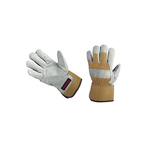 Palm Lined Cow Split Glove - XL