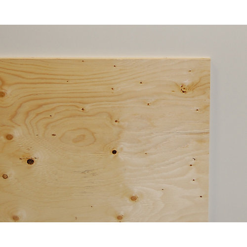 3/4 Inch  2 Feet x 4 Feet Standard Grade Spruce Plywood Handy Panel
