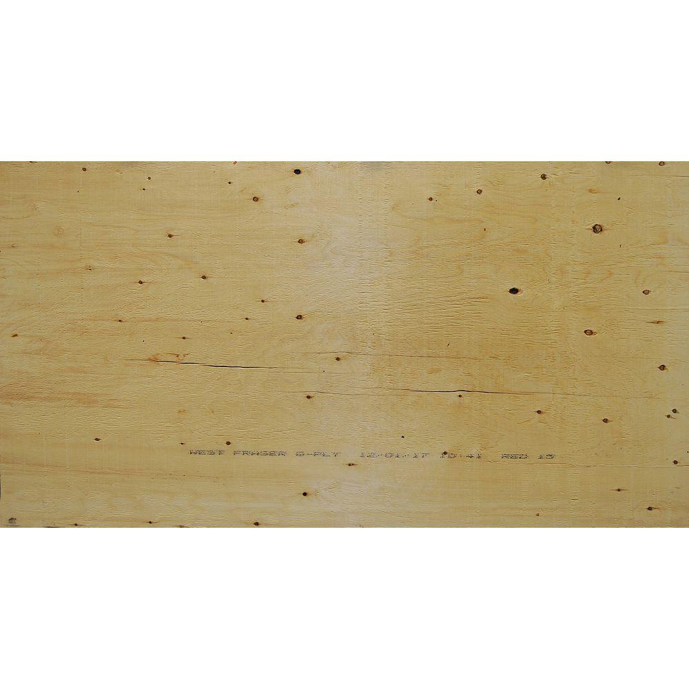 West Fraser 5/8 inch 4 ftx8 ft Standard Spruce Plywood