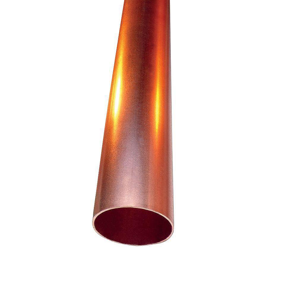 Cerro 3/4 inch x 6 ft. Copper Type L Hard Temper Straight Pipe
