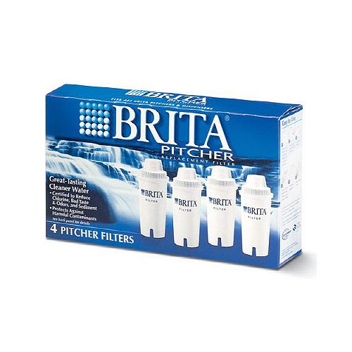 Pitcher Replacement Filters, (4-Pack)
