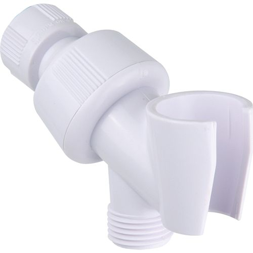 Shower Arm Bracket, White