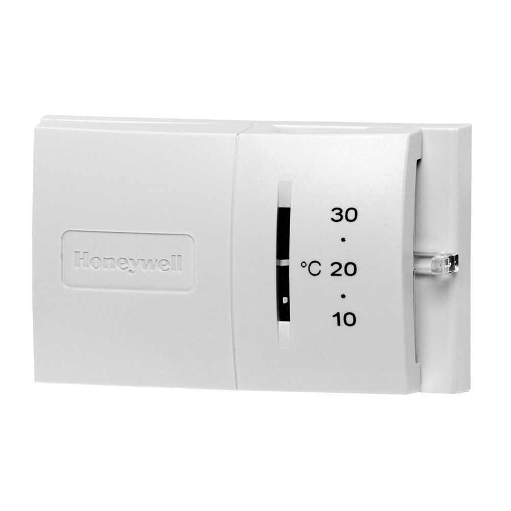 Honeywell Thermostat manuel conventionnel pour chauffage seulement format Horizontal