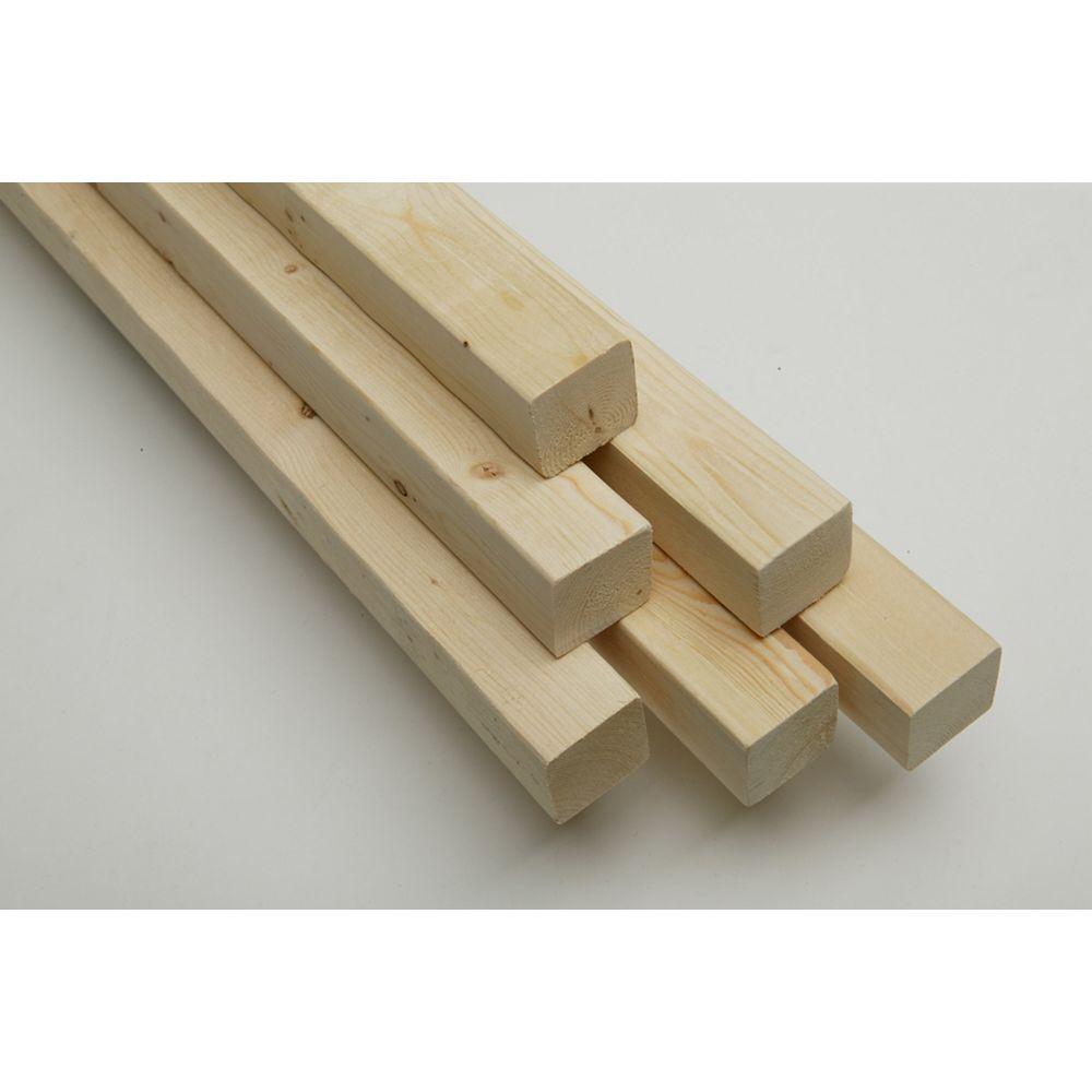 HDG 2x2x8 Spruce Pine Framing Lumber