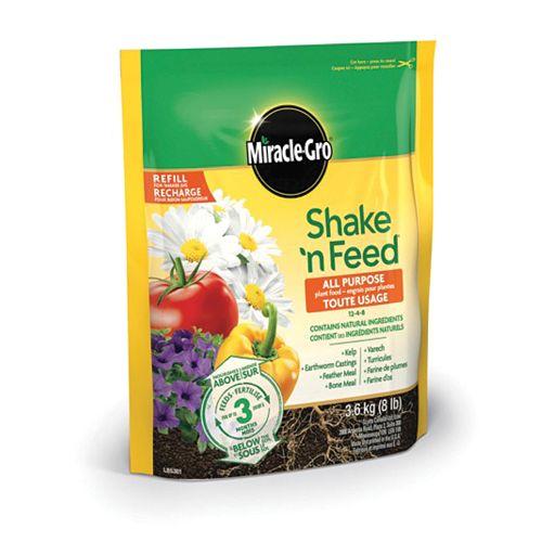 Shake N Feed engrais pour plantes tout usage 12-4-8 3.6 kg