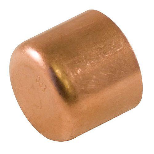 Fitting Copper Tube Cap 1-1/2 Inch
