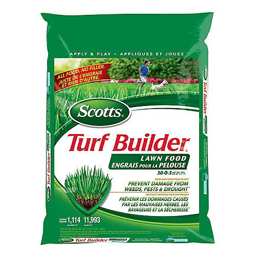 Turf Builder Lawn Fertilizer 30-0-3 - 1114m2
