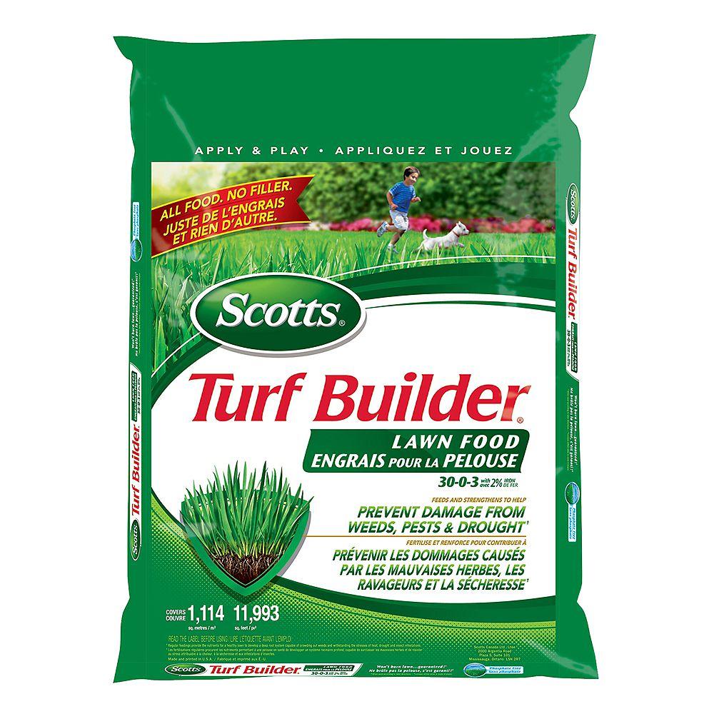 Scotts Turf Builder Lawn Food 30-0-3 14.5 kg (1,114 m², 11,993 ft²)