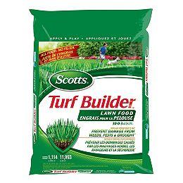 Turf Builder Lawn Food 30-0-3 14.5 kg (1,114 m², 11,993 ft²)