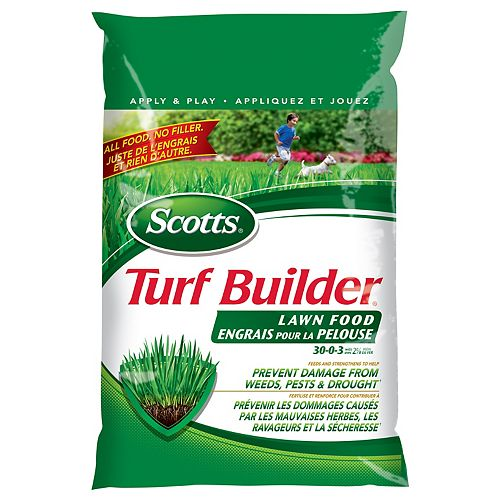 Turf Builder Lawn Fertilizer 30-0-3