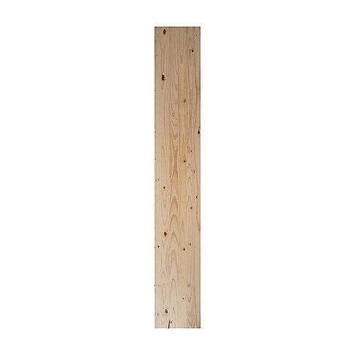 Panneaux en bois stratifié blanc 12 x 96po