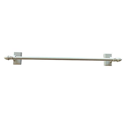 Tringle pour brise-bise magnétique, blanc