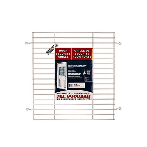 Mr. Goodbar 26-inch Door Security Grille