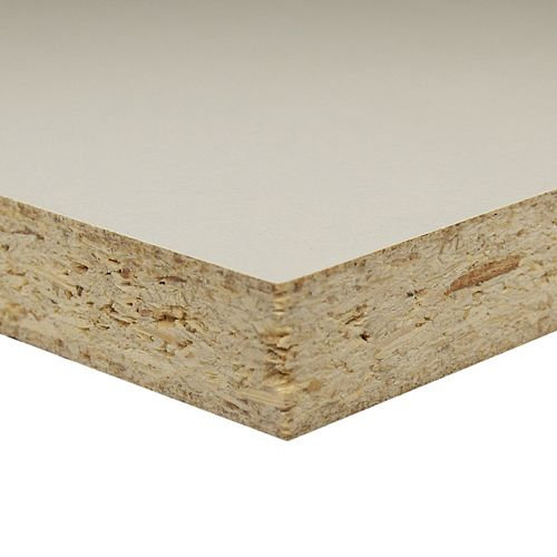 Alexandria Moulding 3/4 Inch  2 Feet x 4 Feet White Melamine Particleboard Handy Panel