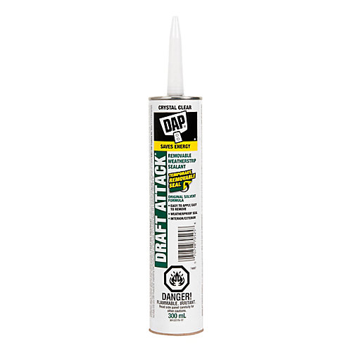 Draft Attack Removable Weatherstrip Sealant