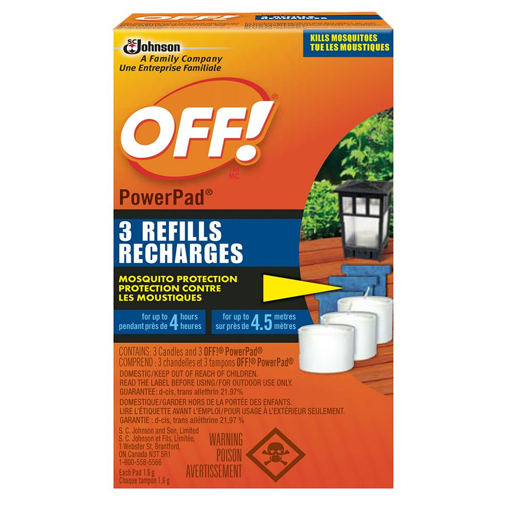OFF! Mosquito Lamp Refill