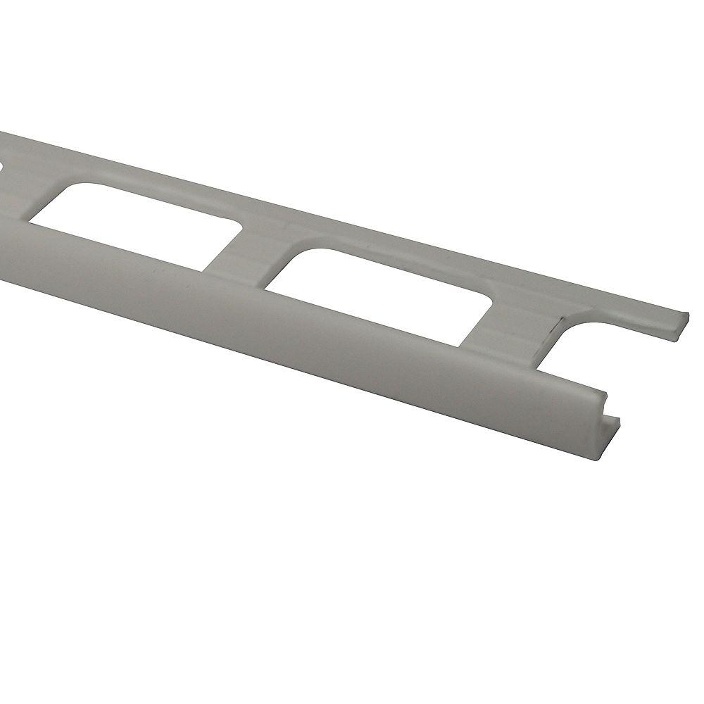 PROVA Vinyl Tile Edge - White - 3/16 in. (4 mm) x 8 ft.
