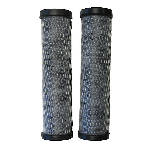 5 micron carbon replacement filters (2-Pack)