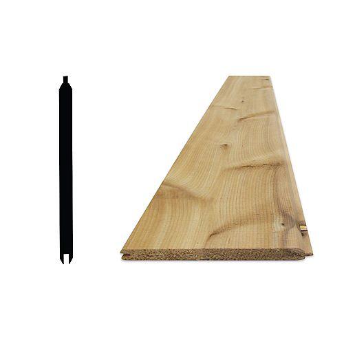 Alexandria Moulding 11/16-inch x 6-inch -08 Feet (1x6) Cedar STK T&G VJT
