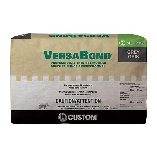 VersaBond 50 lb. Grey Ceramic Tile & Stone Fortified Thin-Set Mortar
