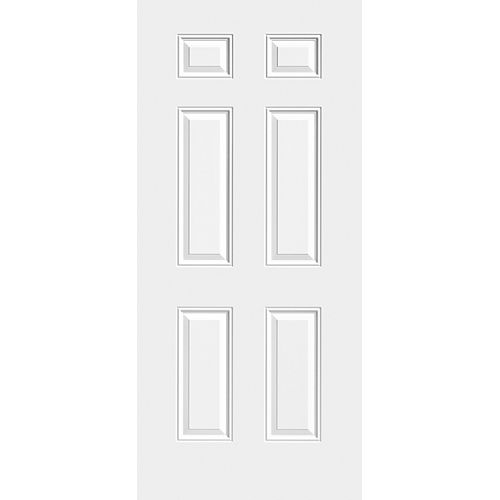 35 3/4-inch x 79-inch Primed Slab Door